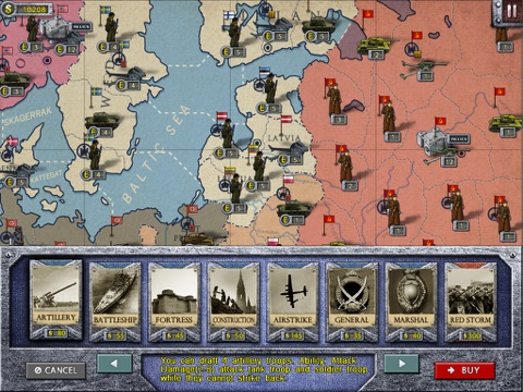Скачать European War 2 Lite for iPad