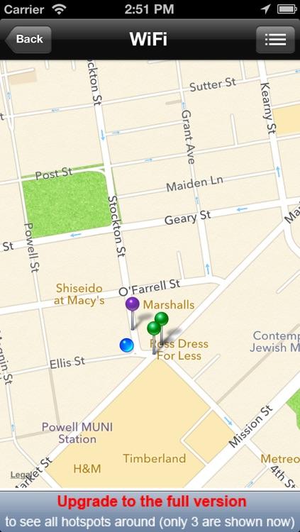 Free WiFi Finder screenshot-4
