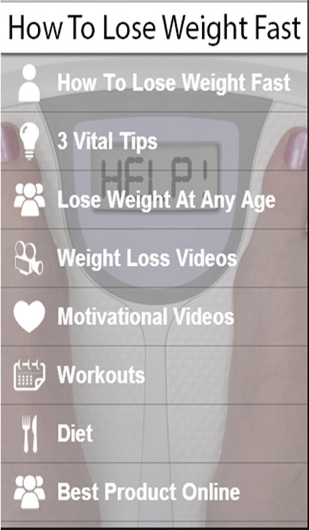 How To Lose Weight Fast - Learn How To Lose Weight Fast Now! screenshot-1