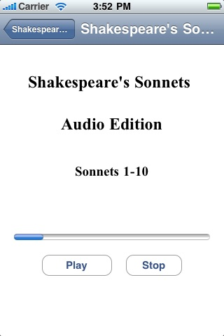 Shakespeare's Sonnets - Audio Edition screenshot-1