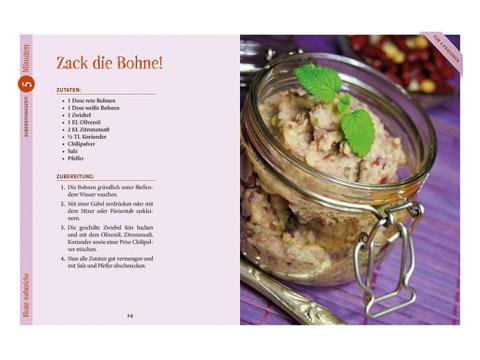 """Schnelle vegane Küche"""" von Daniela Friedl in iBooks"""