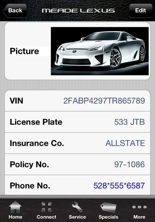 Meade Lexus Owner's Garage screenshot-4