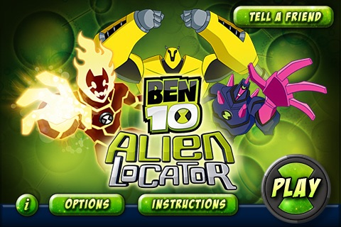 Ben10 Alien Locator Lite screenshot-0