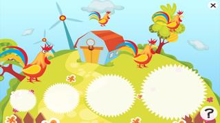 活躍的兒童遊戲2-5歲左右的農場的動物: 學習 幼兒園,學前班或幼兒園屏幕截圖4