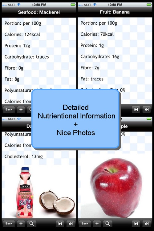 Food Calorie List screenshot-0