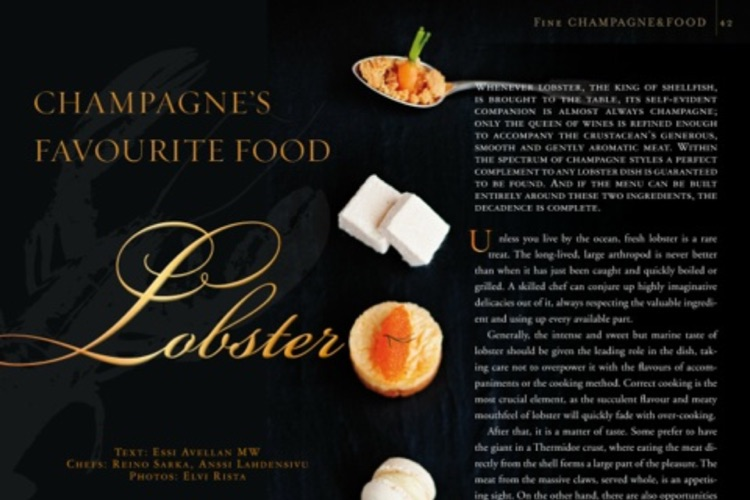 FINE Champagne Magazine screenshot-2