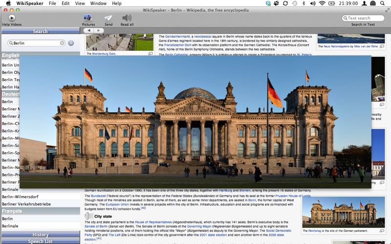 WikiSpeaker Screenshot