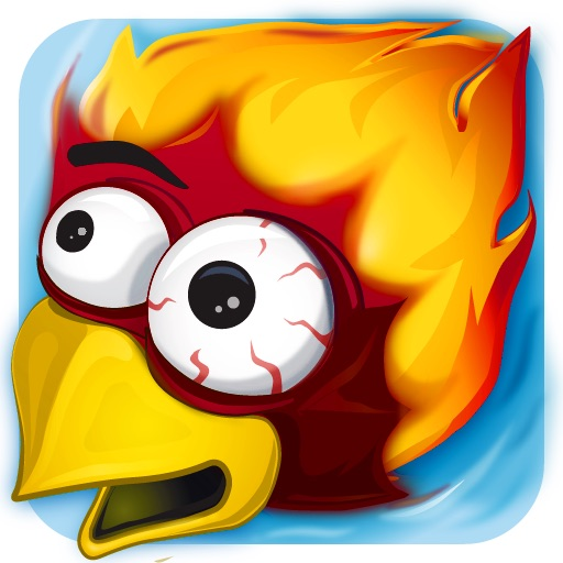 Rocket Chicken (Fly Without Wings) by nanobitsoftware com