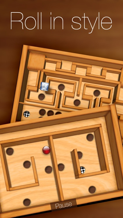 Wooden Labyrinth 3D