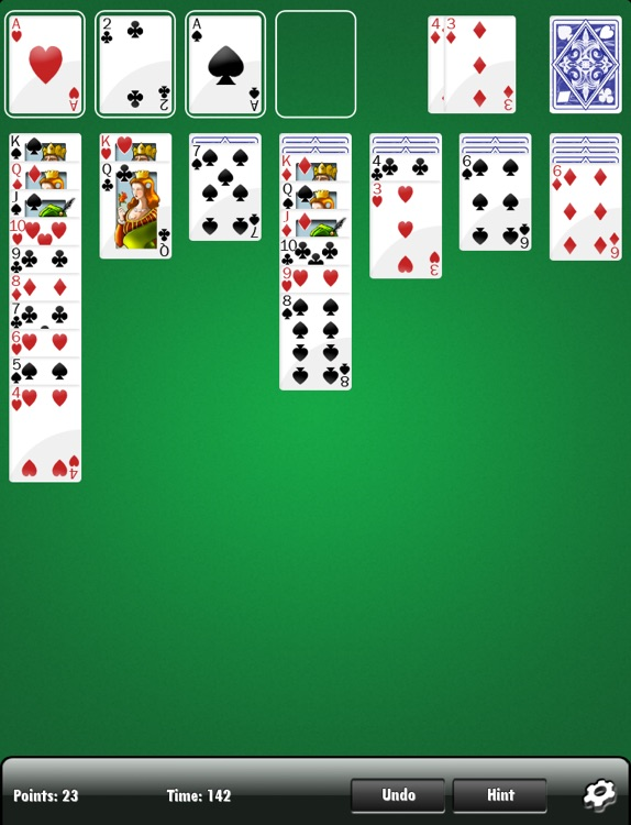 Solitaire HD FREE screenshot-1
