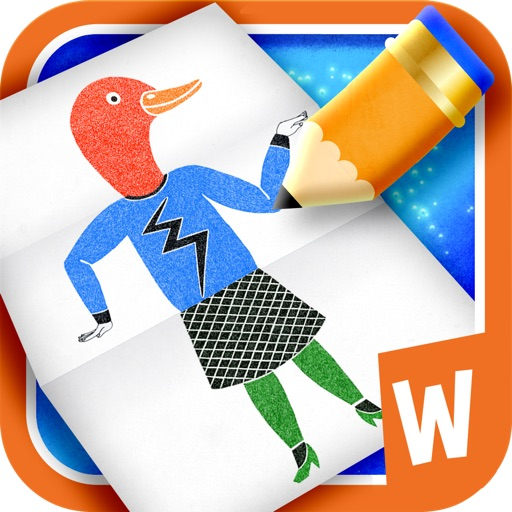 Drawing game for kids - Funny Figures