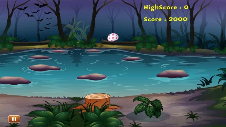 A Jungle Crocodile Drop the Egg Hatching game