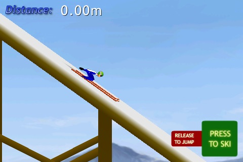 Ski Jump Lite screenshot-2
