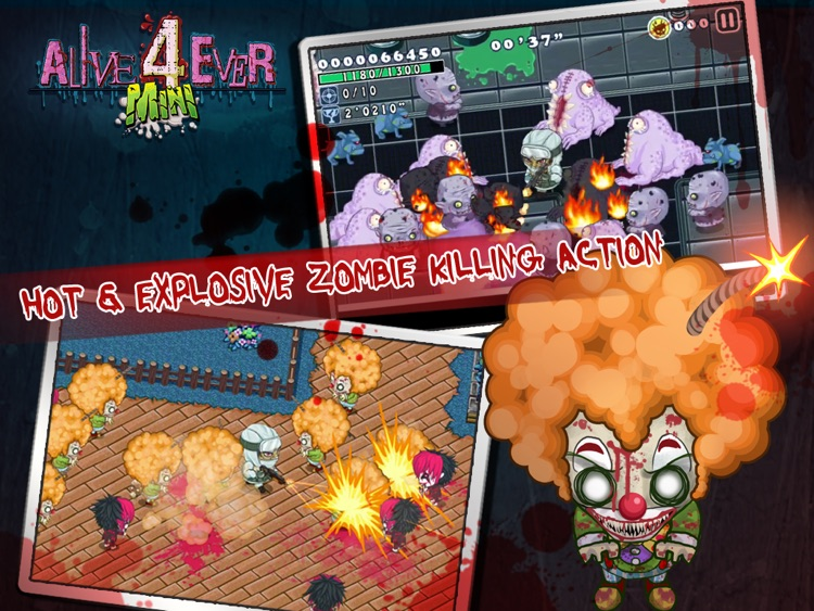 Alive4ever mini: Zombie Party for iPad screenshot-4