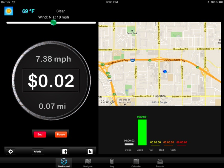 Extra Mile HD - Voice Navigation With GPS Mileage Log