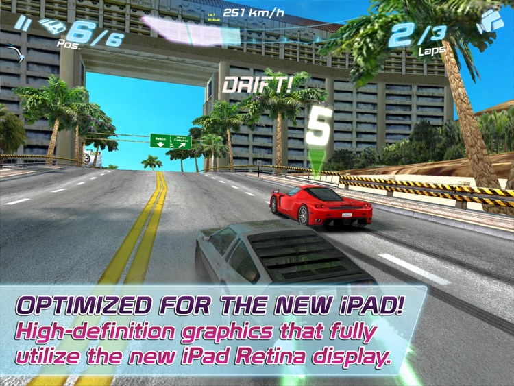Asphalt 6: Adrenaline HD screenshot-0