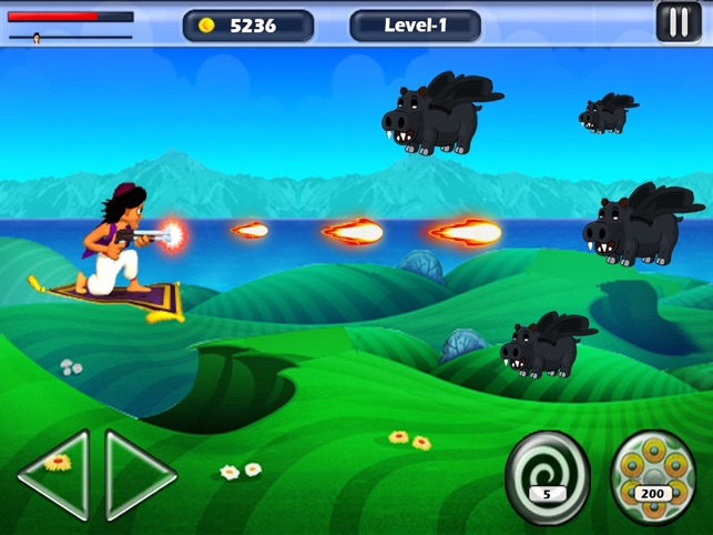 aladin und die Waffe (Action-Shooter Prinz Prinzessin zu retten) Screenshot
