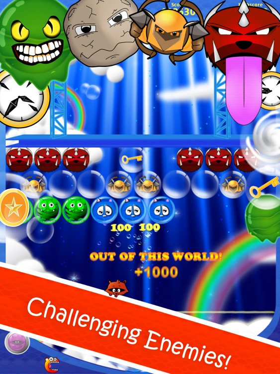 Bubble Shooter Fantasy HD screenshot-2