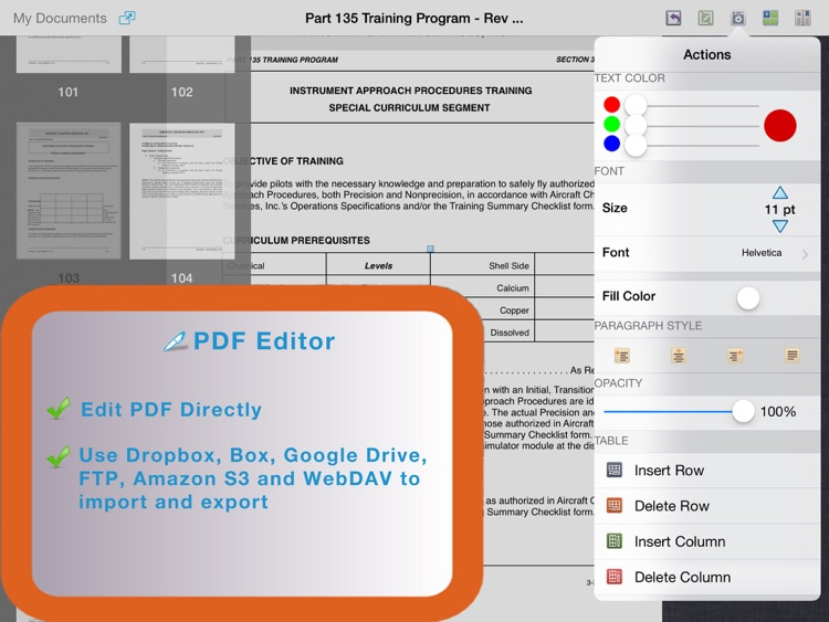 PDF Editor for iPad screenshot-0