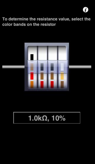 Resistor Color-Code screenshot one
