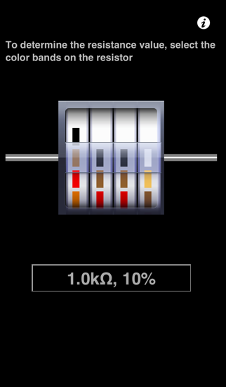 Resistor Color-Code screenshot one