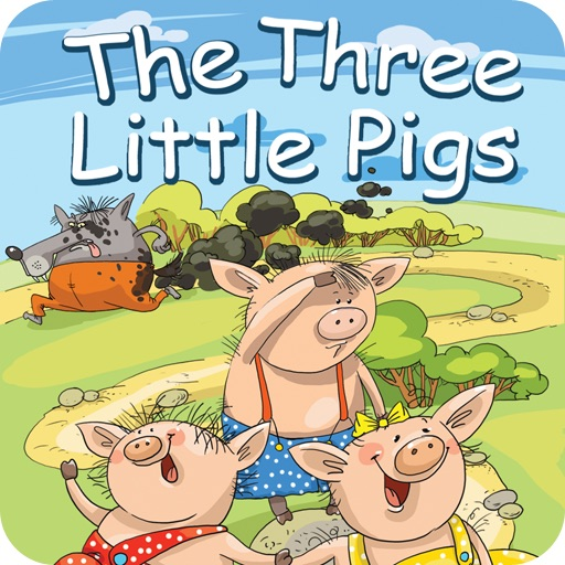 Three Little Pigs HD icon