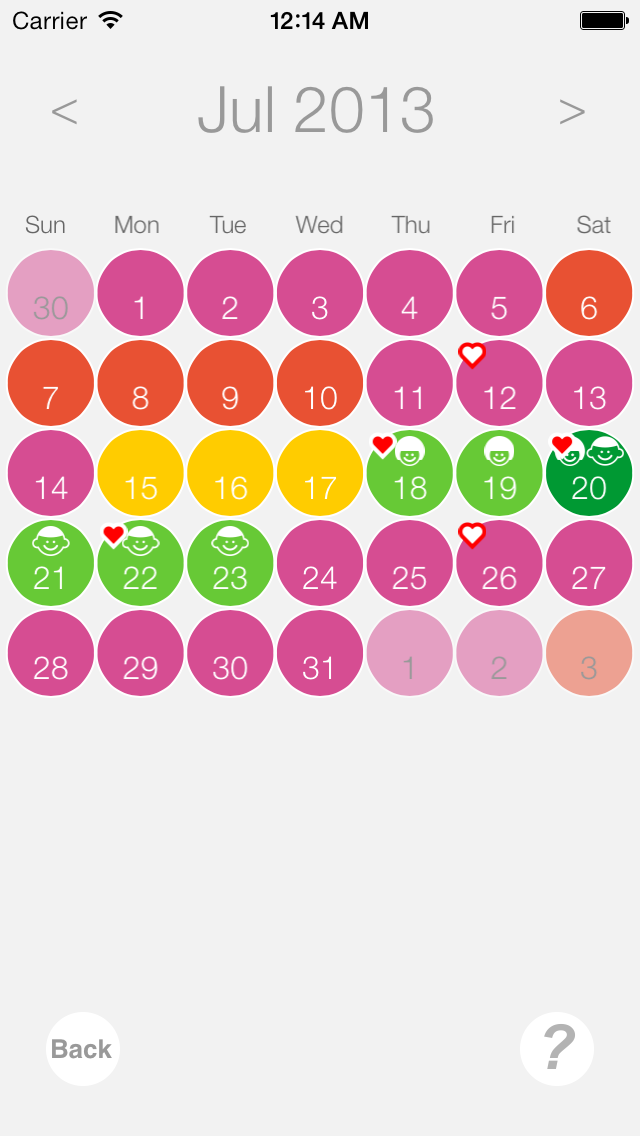 Ovulation and Pregnancy Calendar (Fertility Calculator, Gender Predictor, Period Tracker)Screenshot of 4