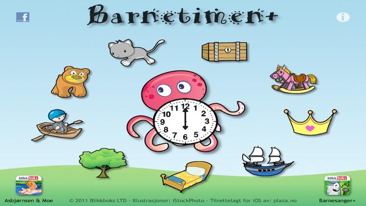 Barnetimen+ - barnesanger, dikt, rim, regler og eventyr