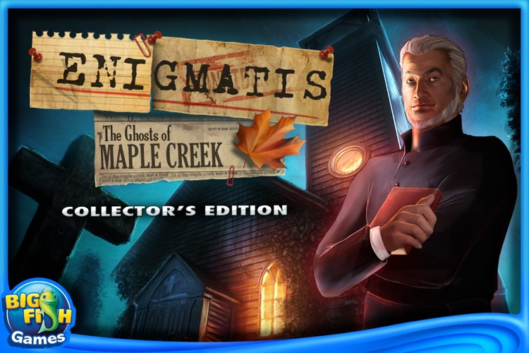 Enigmatis: The Ghosts of Maple Creek Collector's Edition screenshot-0