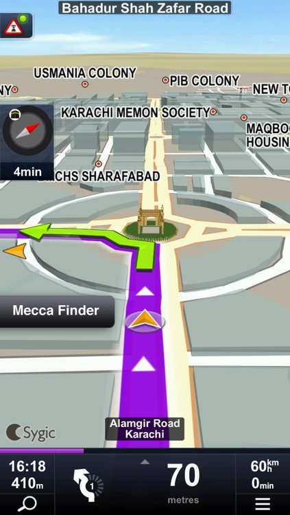 Sygic & Trakker Nav Pakistan: GPS Navigation screenshot-3