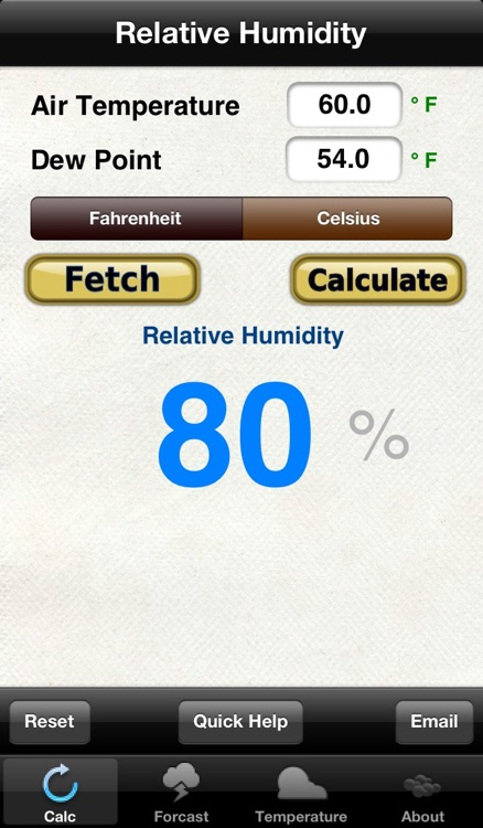 Relative Humidity Calculator & Temperature Converter (Celsius, Fahrenheit, Kelvin)