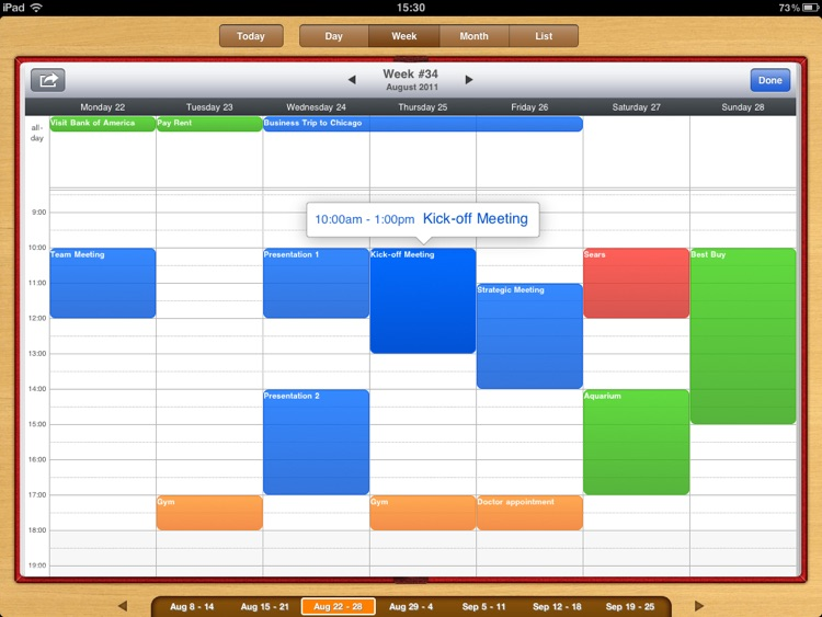 Organizer HD screenshot-4