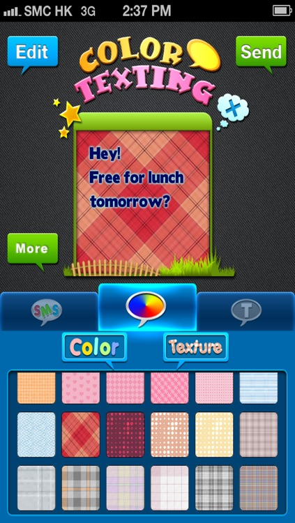Color & Fonts for Messages screenshot-0