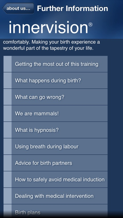 Hypnosis for Childbirth (hypnotherapy for stress free pregnancy, labour and birth) screenshot-3