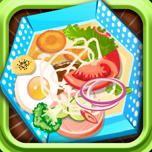 Salad Now-Cooking games icon