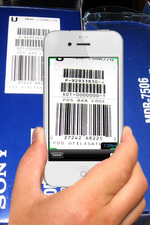 Barcode Scanner ₸ screenshot-0