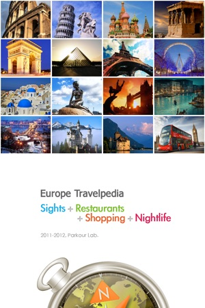 Europe Travelpedia - ALL-IN-ONE Screenshot