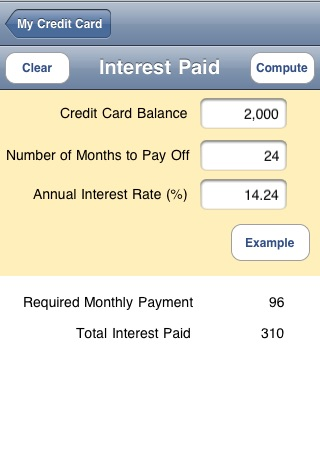 My Credit Card screenshot-3