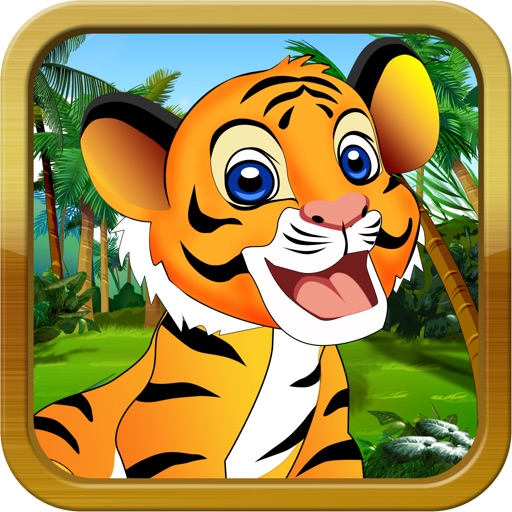 Baby Tiger Run - Addictive Animal Running Game