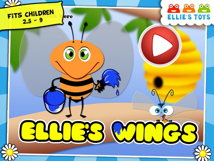 Ellie's Wings HD -  Free Animal Coloring Game for Children & Family to play together