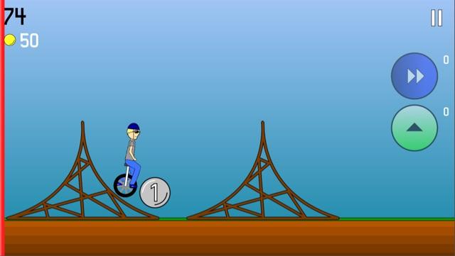 Super Unicycle Screenshot