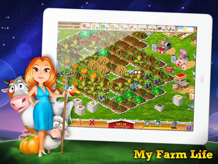 My Farm Life HD Free screenshot-4