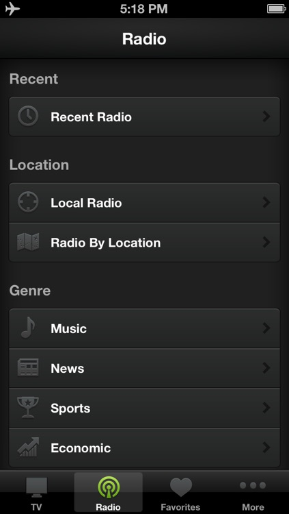 OStream - Watching live TV and listen to live radio around the world screenshot-1