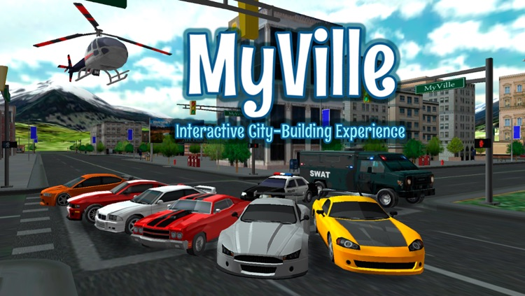 MyVille - The best city craft game for kids!