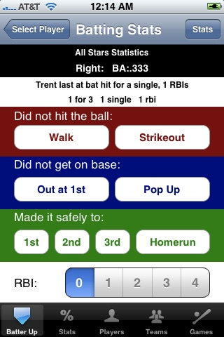 Baseball HittingTracker