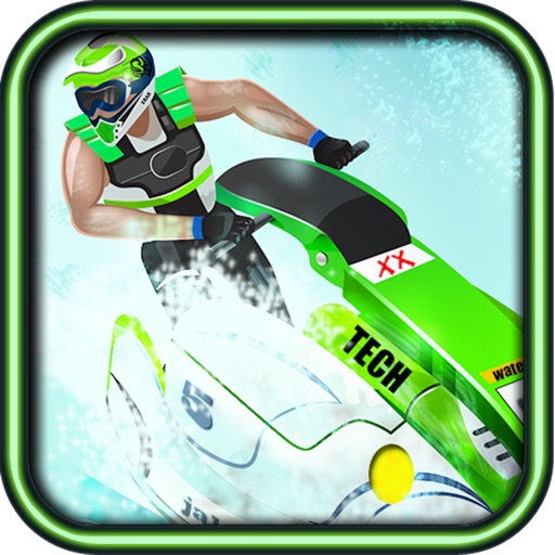 Jet Ski Water Racing Lite icon