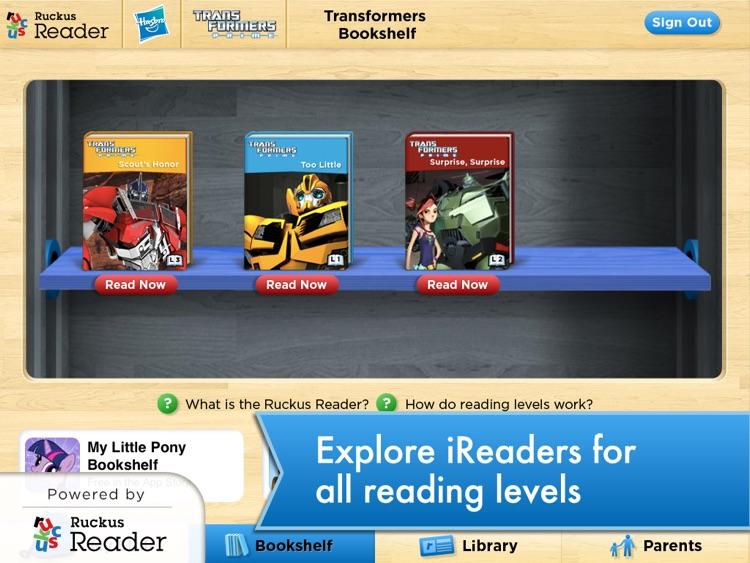 Transformers: Ruckus Reader screenshot-4