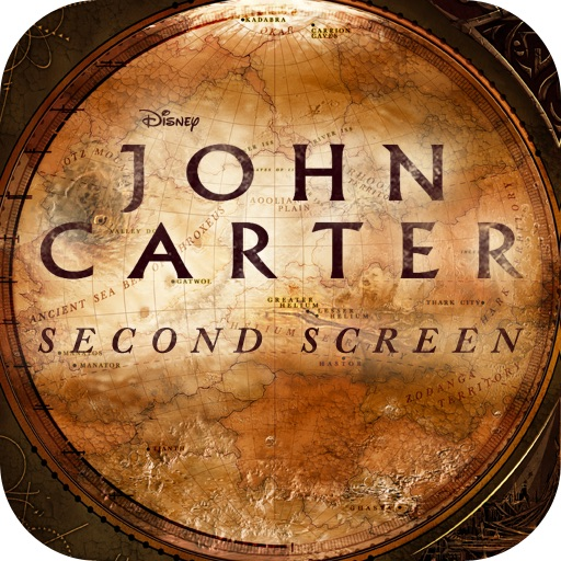 Disney Second Screen: John Carter icon