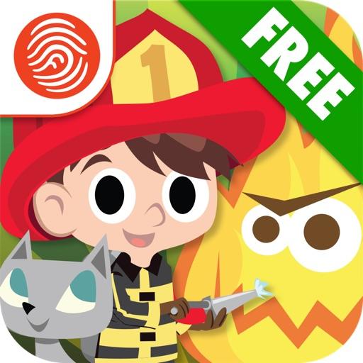 Big Kid Life: Firefighter Free - Preschool Learn & Play - A Fingerprint Network App