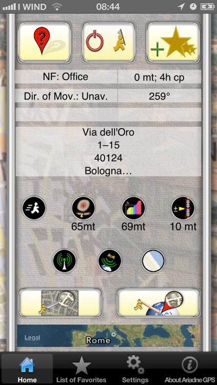 Ariadne GPS